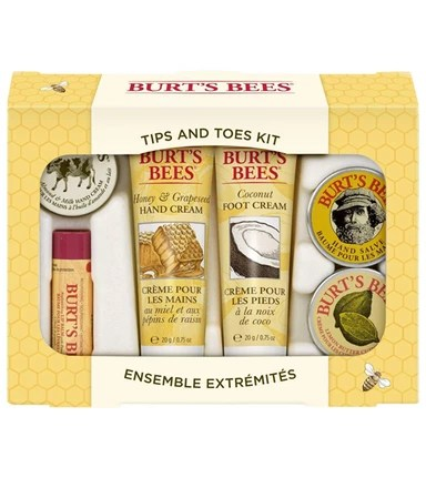 Burt's Bees Tips and Toes Gift Set Products