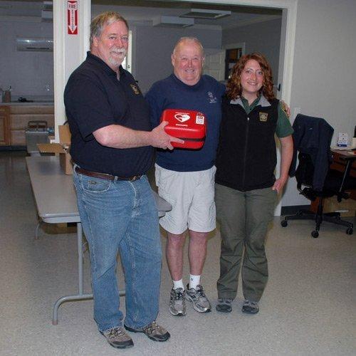 BARS donates defibrillators to Barnstable Marine and Environmental Affairs Division