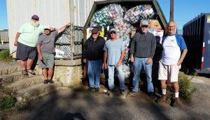 BARS recycling volunteers