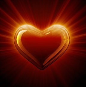 Glowing Hearts For Cake Ideas And Designs