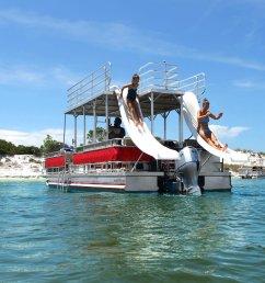 double decker boats [ 2400 x 1598 Pixel ]