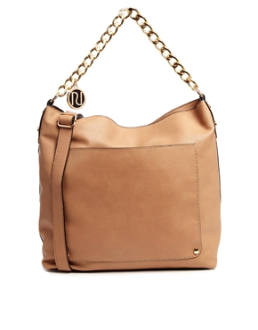 Image 1 of River Island Chain Slouch Bag