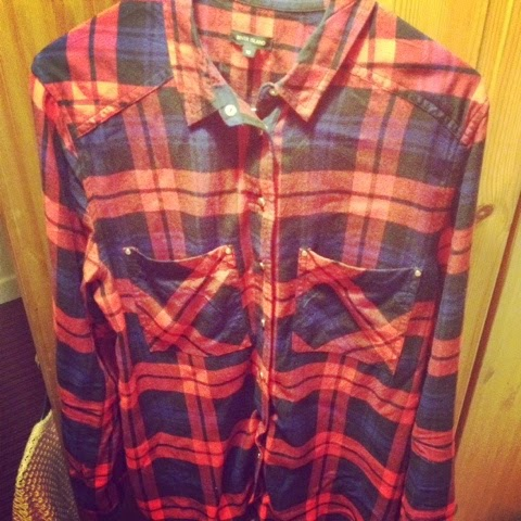 River Island Red Check Shirt