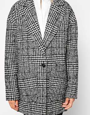 Image 3 of Only Check Print Blazer