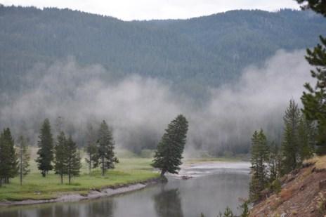 Morning fog over the Snake River