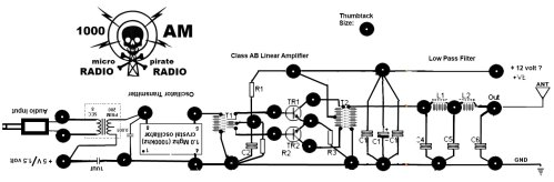 small resolution of crystal osc class ab linear amp transmitter