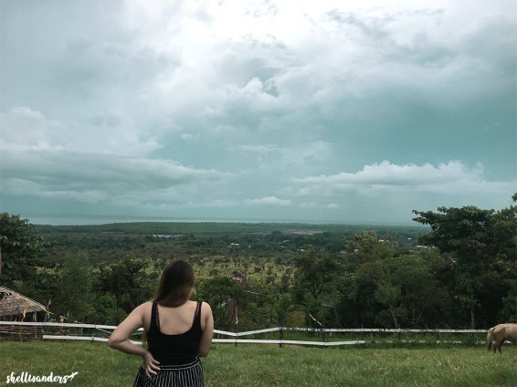 Overlooking at mitras ranch