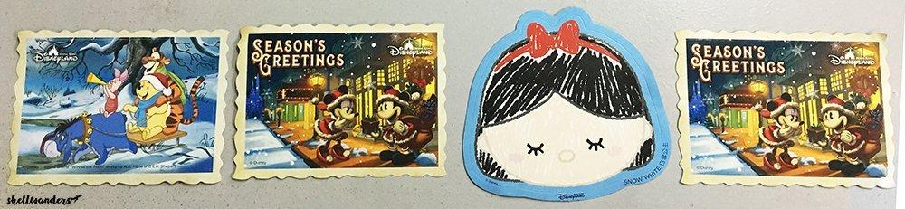 Hongkond Disneylnad Character Stickers