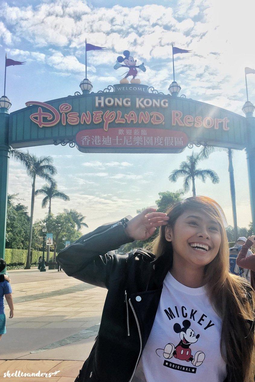Hongkong Disneyland Famous Entrance