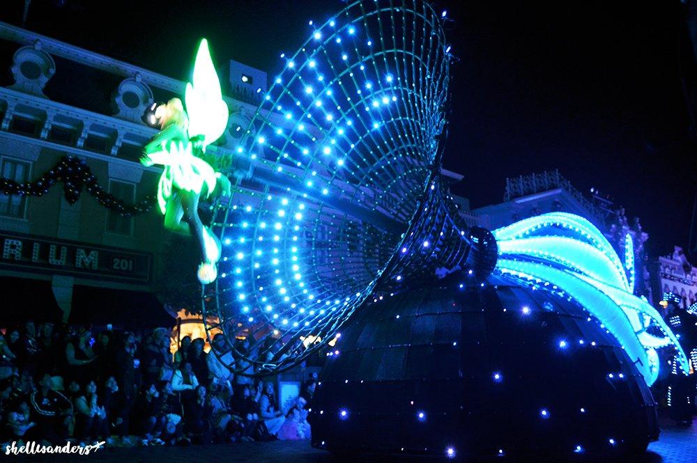 Hongkong Disneyland Tinkerbell Night Parade