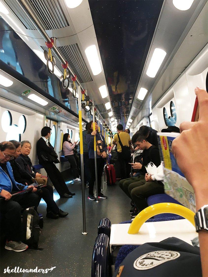 Hongkong Disneyland Train