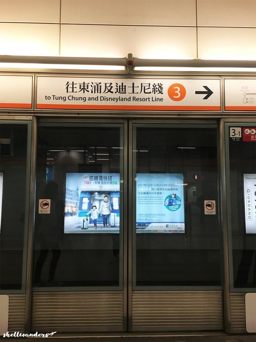 Tung Chung Line Orange colored