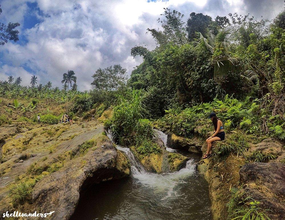 Scenery at Bugho Falls
