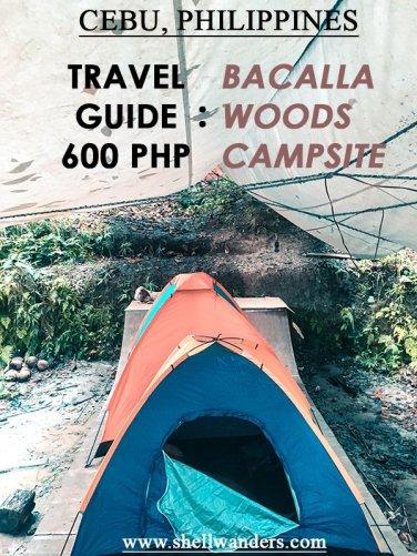 bacalla woods campsite cebu philippines