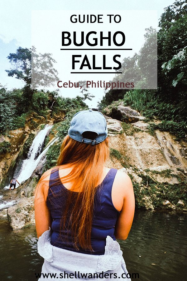 guide to bugho falls cebu philippines