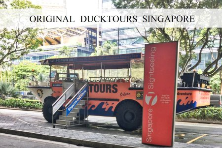Original Ducktour Singapore Car