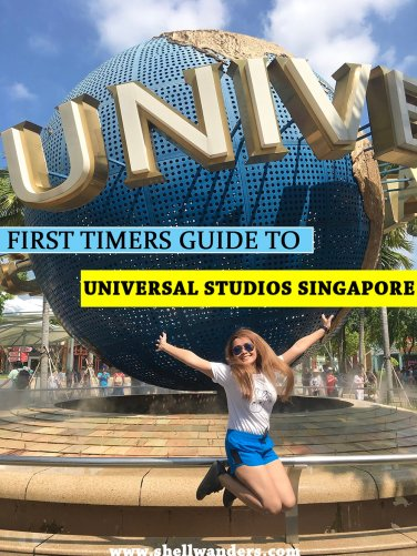 universal studios SINGAPORE shelley