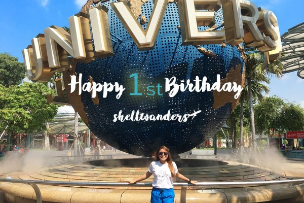Shellwanders Turns 1: An Honest Review of a Year of Blogging