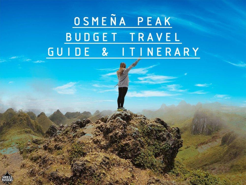 OSMEÑA PEAK CEBU BUDGET TRAVEL GUIDE AND ITINERARY