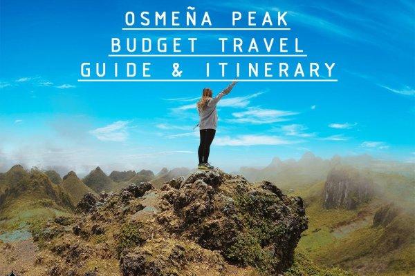 Osmeña Peak Cebu: Budget Travel Guide and Itinerary