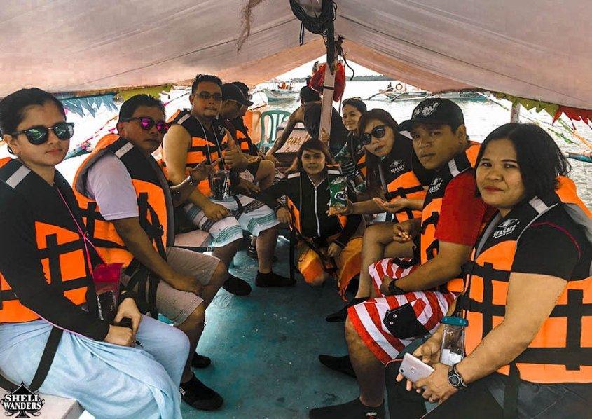 boat to honda bay island tour
