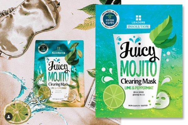 Get Drunk with Mojito Face Mask