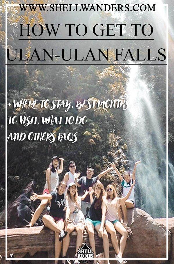 ULAN ULAN AND RECOLETOS FALLS IN BILIRAN LEYTE