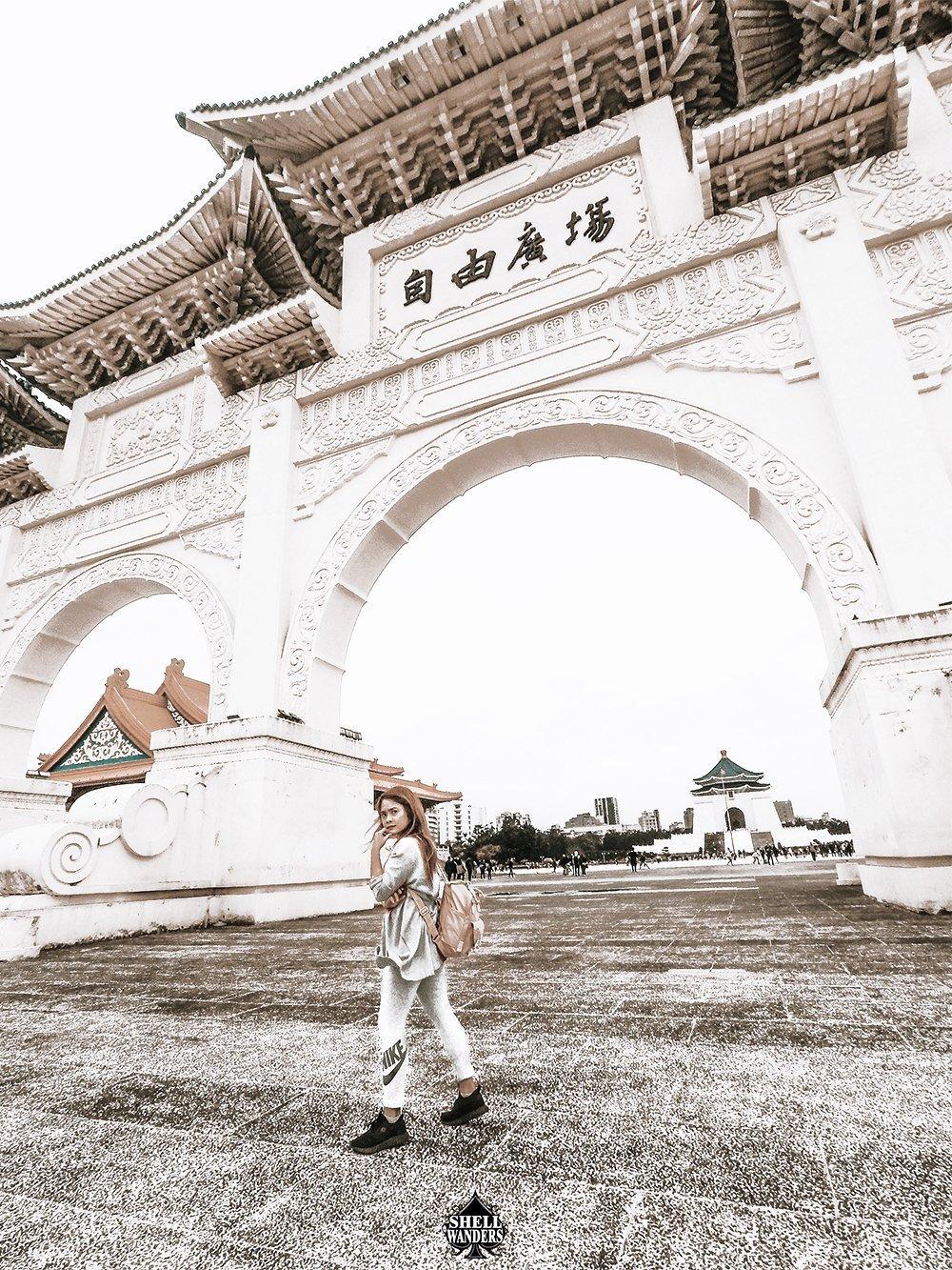 Chiang Kai-Shek hall taiwan