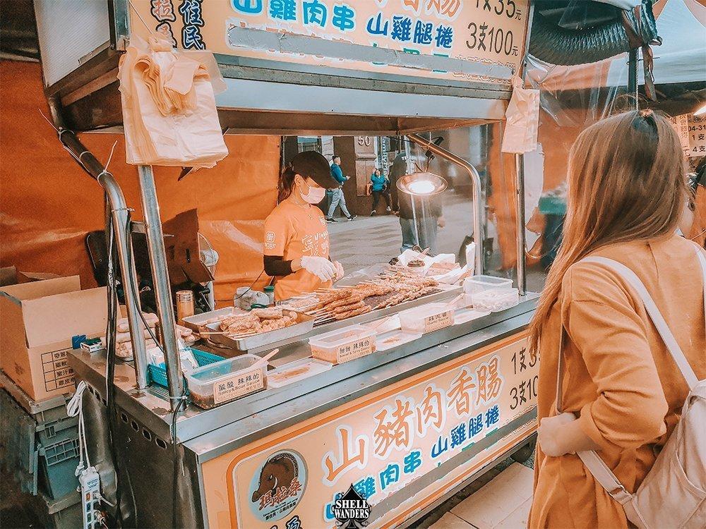 Taipei, Taiwan Food Stall