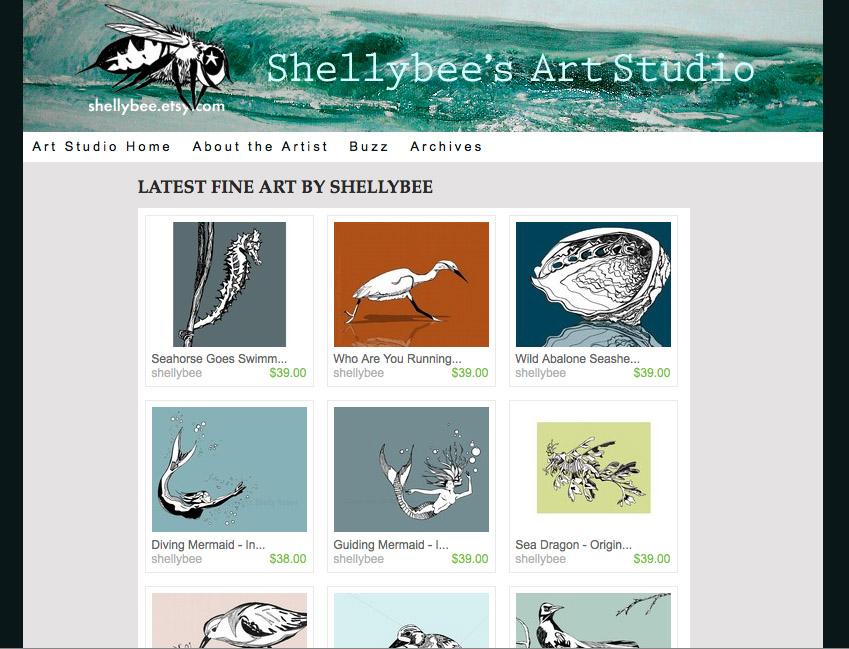 shellybees.com new home