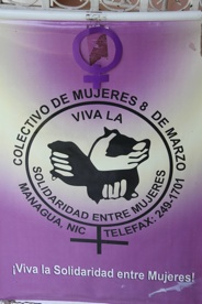 The March 8th collective was one of the original groups started in Managua in the 1980s. The focus on violence against women and women's health.