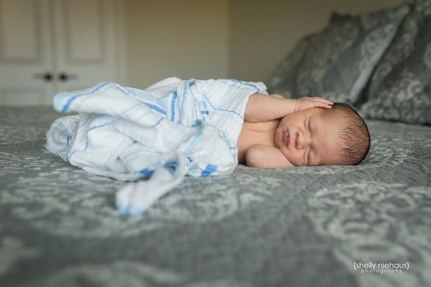 First Baby Boy 10 Days Old {Lifestyle Newborn Photographer|McKinney, TX}