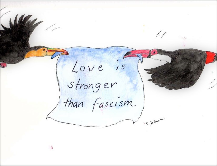 Love is Stronger Than Fascism