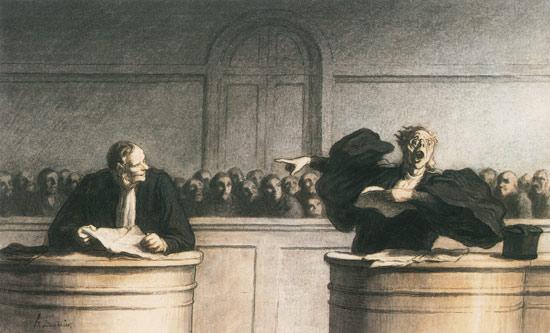 Une cause celebre Honore Daumier