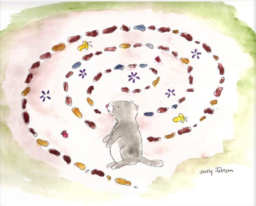 Groundhog and labyrinth (2)