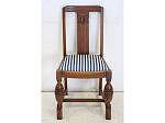 1930年代イギリス製アンティーク ソリッドオーク ダイニングチェア 椅子
