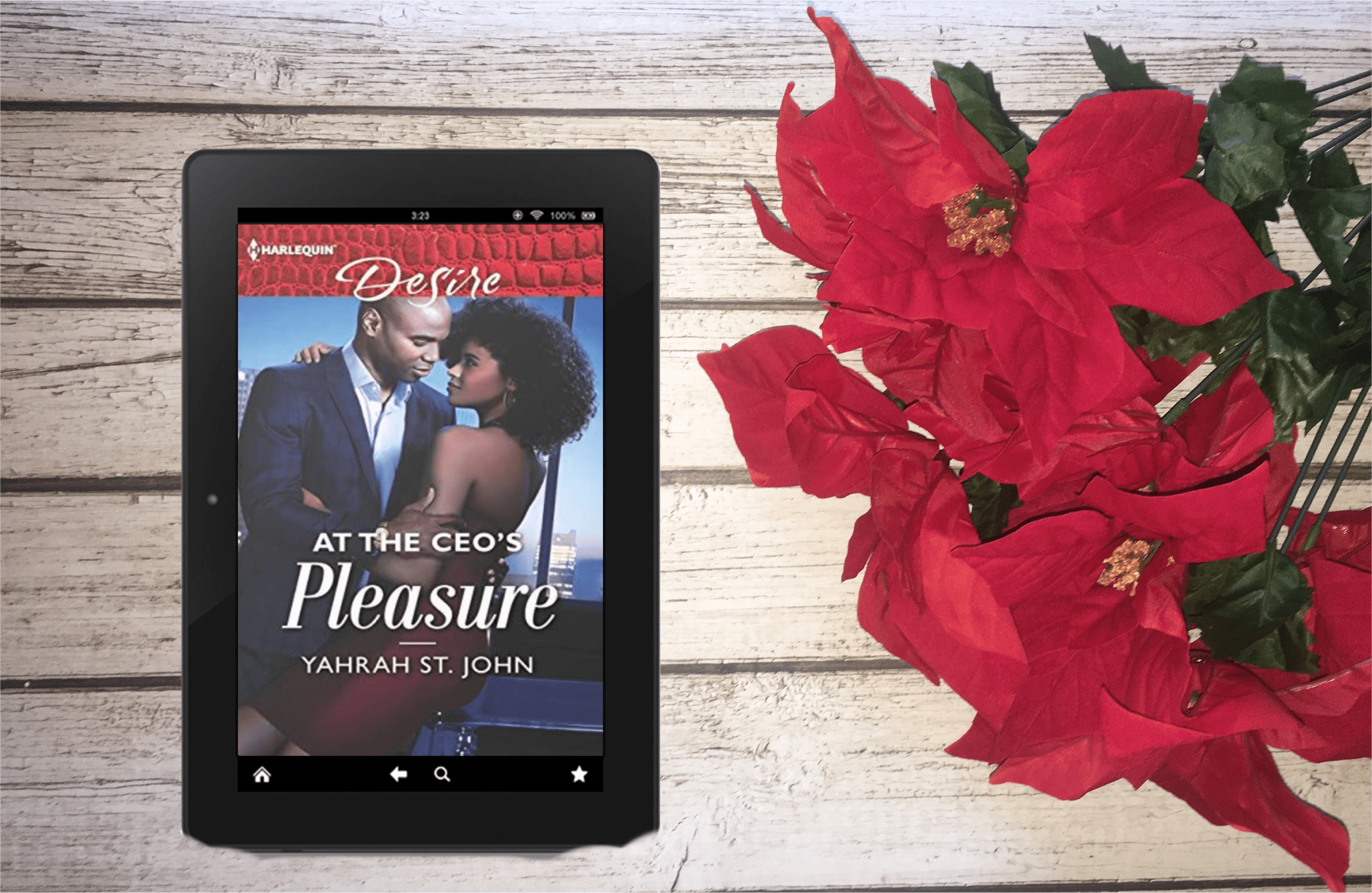 ARC Review: At the CEO's Pleasure (The Stewart Heirs Book 1) by Yahrah St. John