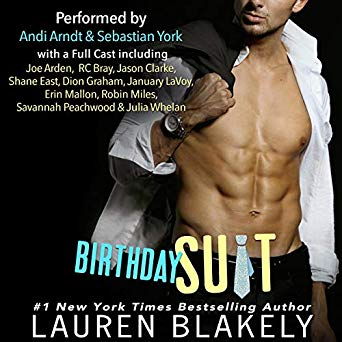 Audio Book Review: Birthday Suit by Lauren Blakely