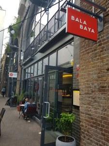 Bala Baya outside
