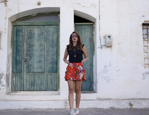 short orange, crete, chania, look, thelibrarianchic