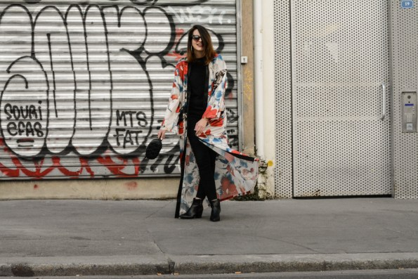 kimono, kimono long, sheen, boot pointues, london rebel