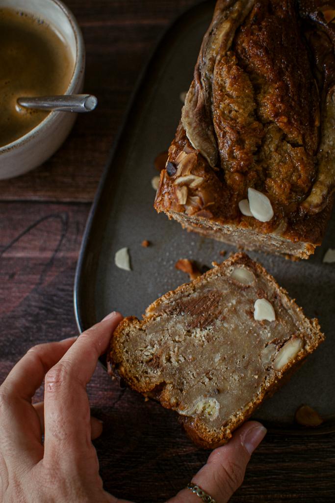 banana bread huile d'olive