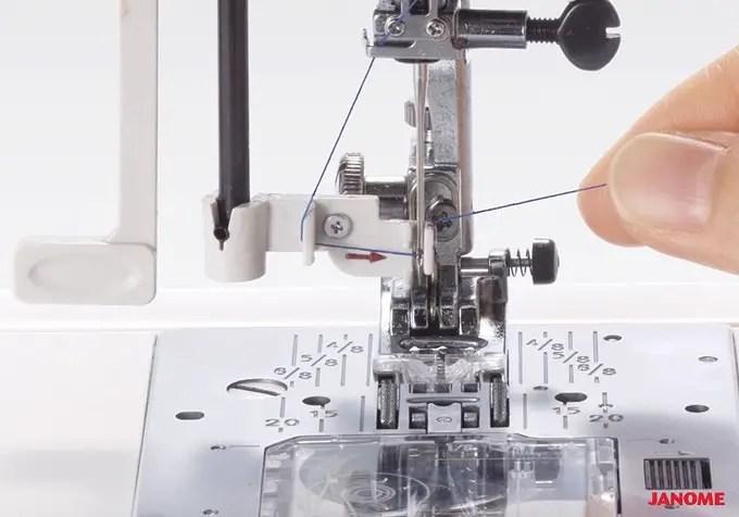 Janome-sewing-machine-automatic-needle-threader