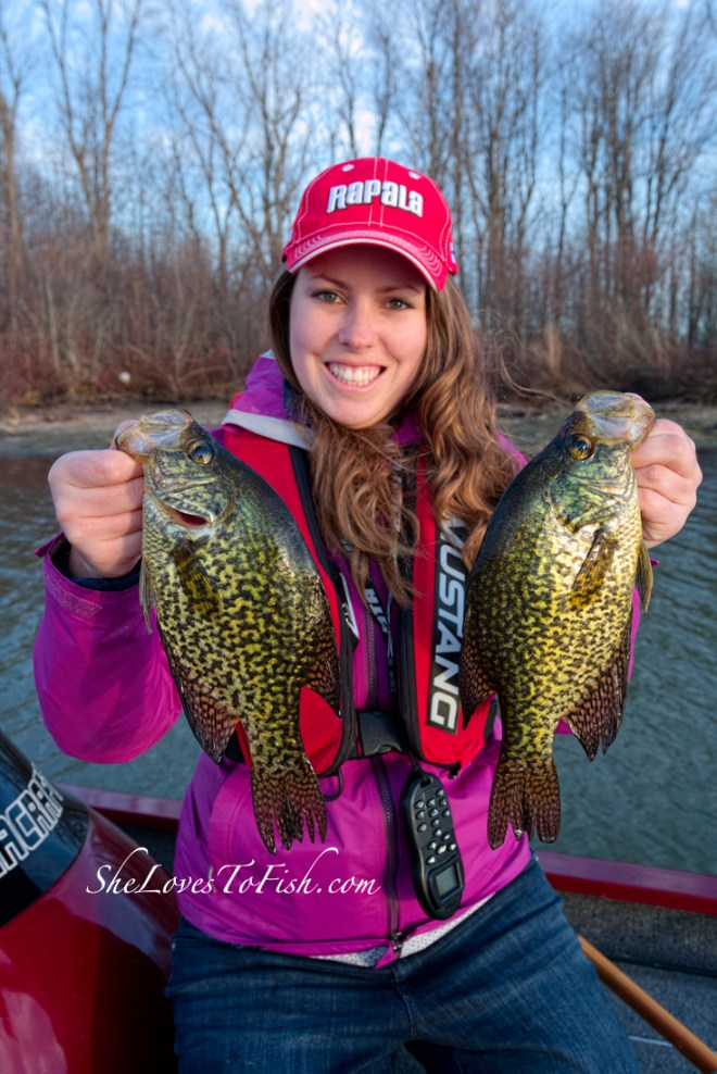 A couple of nice slabs from the first boating trip of the year!