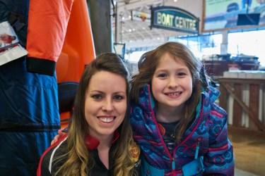Love chatting about fishing with the next generation. I have been fortunate to get to know this little lady and her dad over the past few years. Thanks for coming out to the Ice Fishing Event!