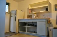 Interior shot of the kitchen.