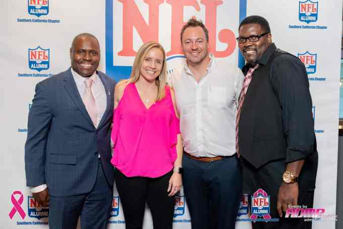 NFL Alumni SoCal Charity Event Series Breast Cancer Event 10-14-19-010