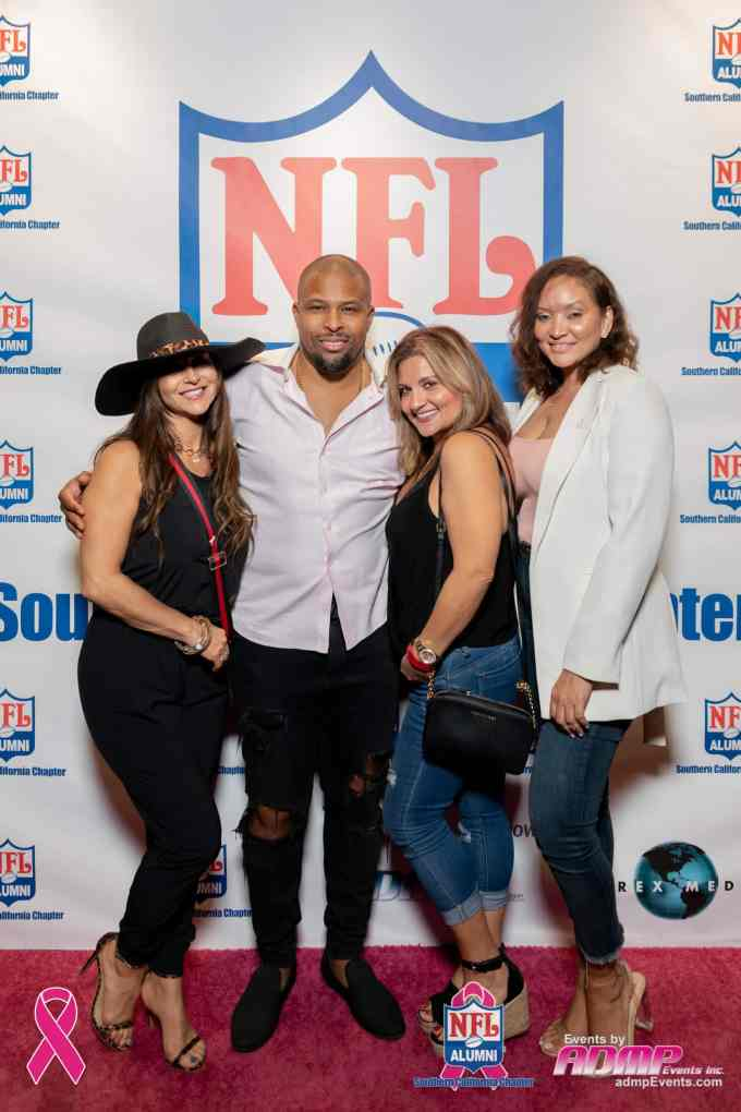 NFL Alumni SoCal Charity Event Series Breast Cancer Event 10-14-19-243