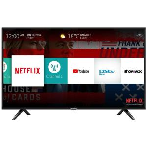 49″ LED FULL HD SMART TV, 3 HDMI, 2 USB DIVX, AV, Black, WIFI, Free Bracket