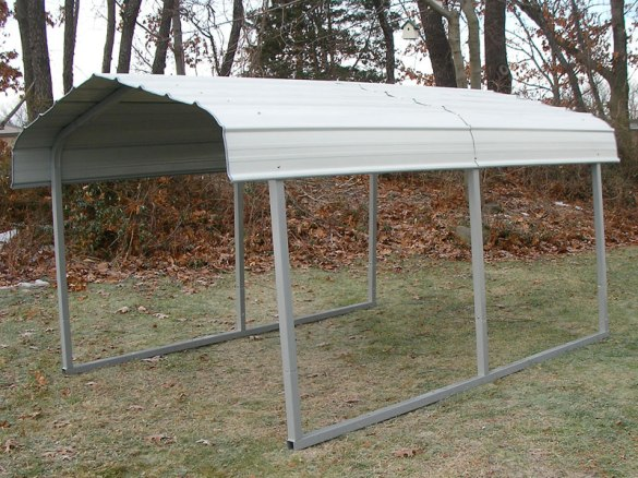 Build Attached Metal Carport DIY Wood Stain Markers